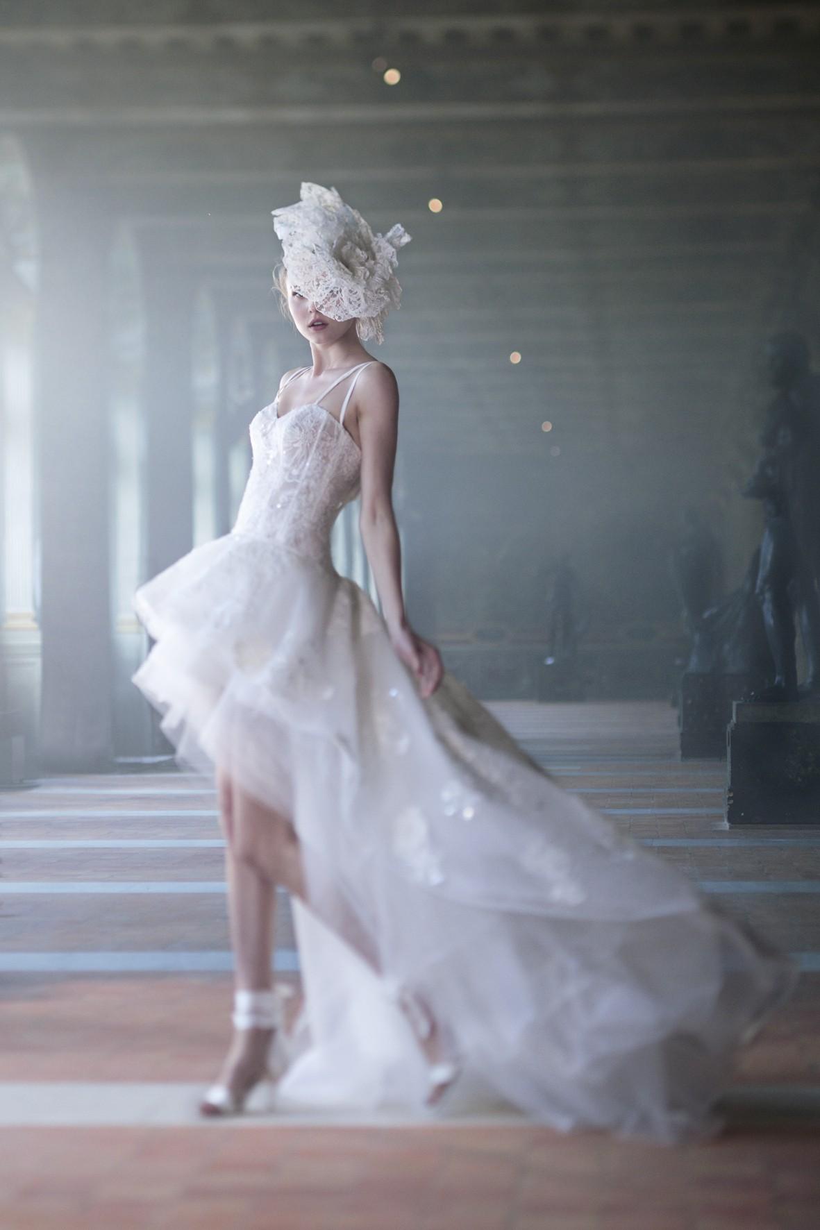 Robe de mariée courte - Babilone - Collection 2017