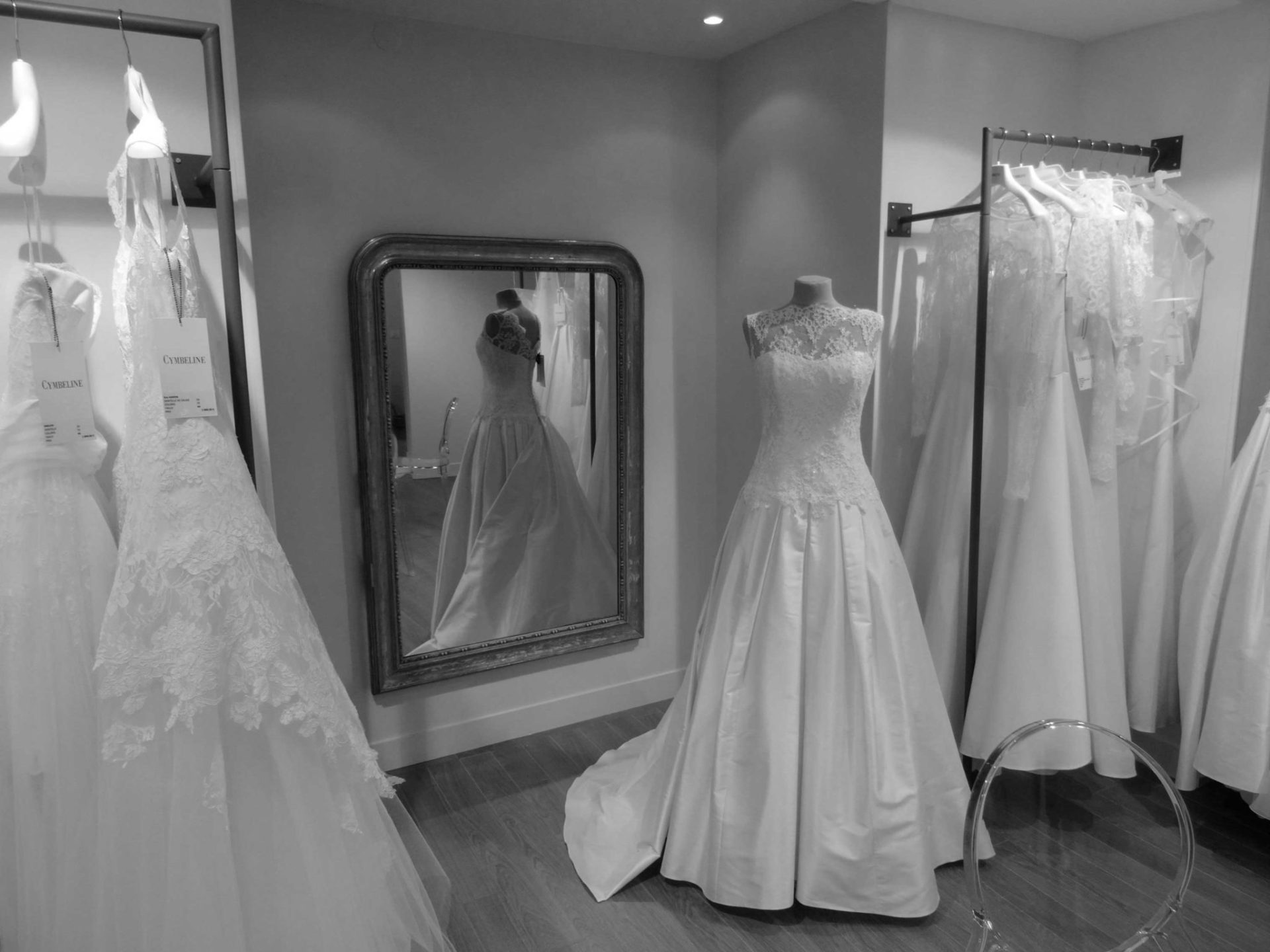 Boutique Cymbeline - Robes de mariée wedding dresses abiti de sposa vestidos de noiva Hochzeitskleid