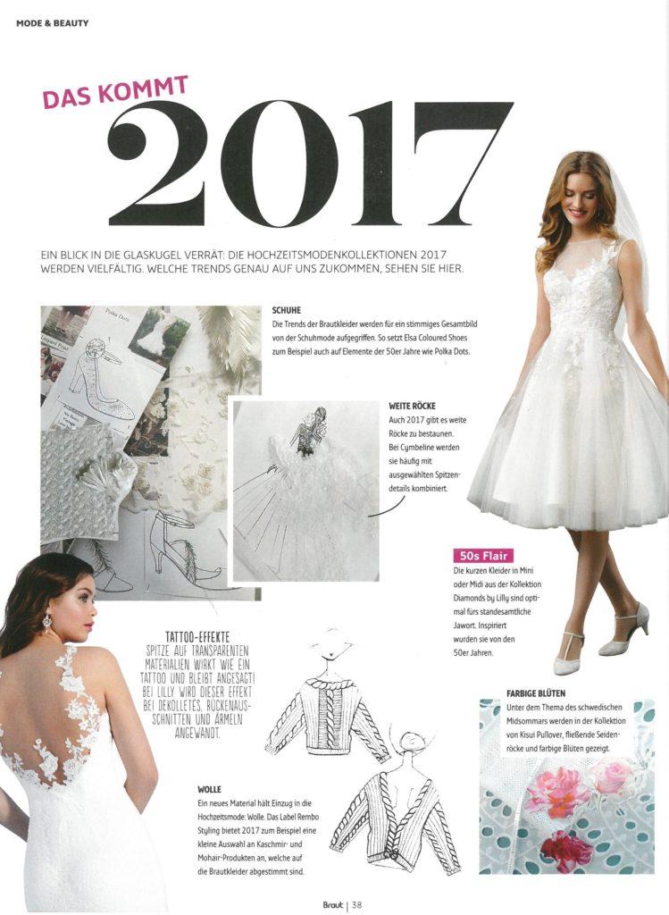 June-August 2016 - Cymbeline - Robes de mariée - Collection 2018
