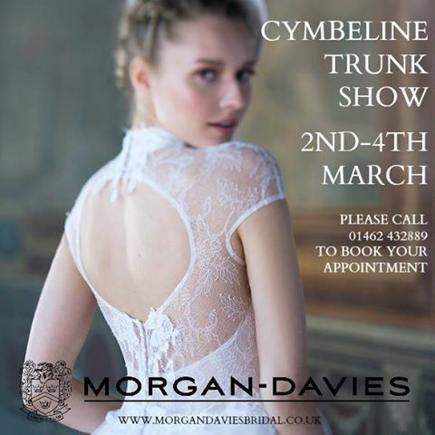 Trunk Show hitchin Cymbeline Morgan Davies Bridal