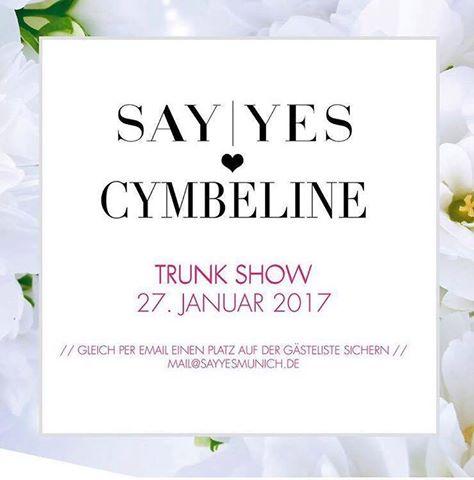Cymbeline trunk show munich