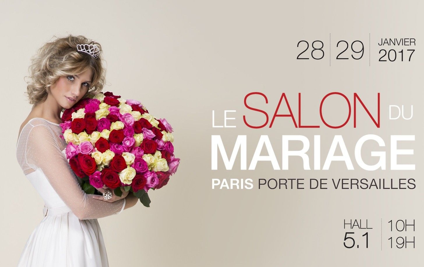Salon du mariage paris cymbeline robes de mari e for Salon du chien 2017 paris