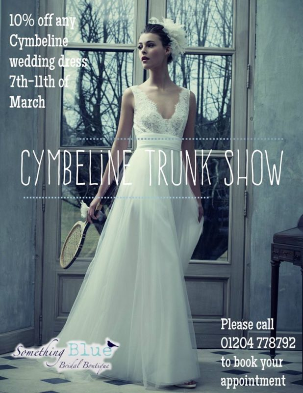 Trunk show Bolton cymbeline something blue bridal boutique bolton royaume-uni march 2017