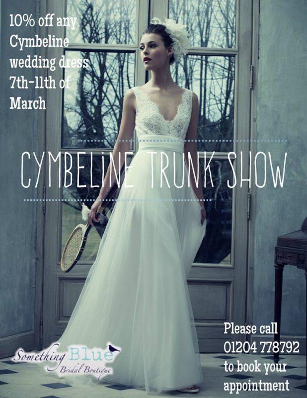 Trunk show Bolton cymbeline something blue bridal boutique bolton royaume-uni march 2017