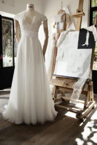 ANGEL - Robe de mariée en dentelle - Cymbeline Collection 2018