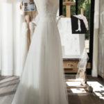 CACHOU - Robe de mariée en dentelle et tulle bobin - Cymbeline Collection 2018