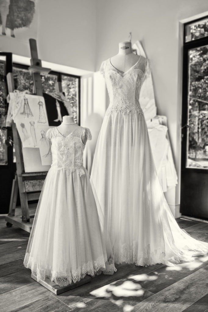 COEUR ET COMPOTE - Robe de mariée - Robe mariage cérémonie enfant - Cymbeline Collection 2018