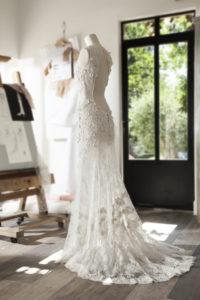 AIRELLE - Robe de mariée en dentelle de Calais - Cymbeline Collection 2018