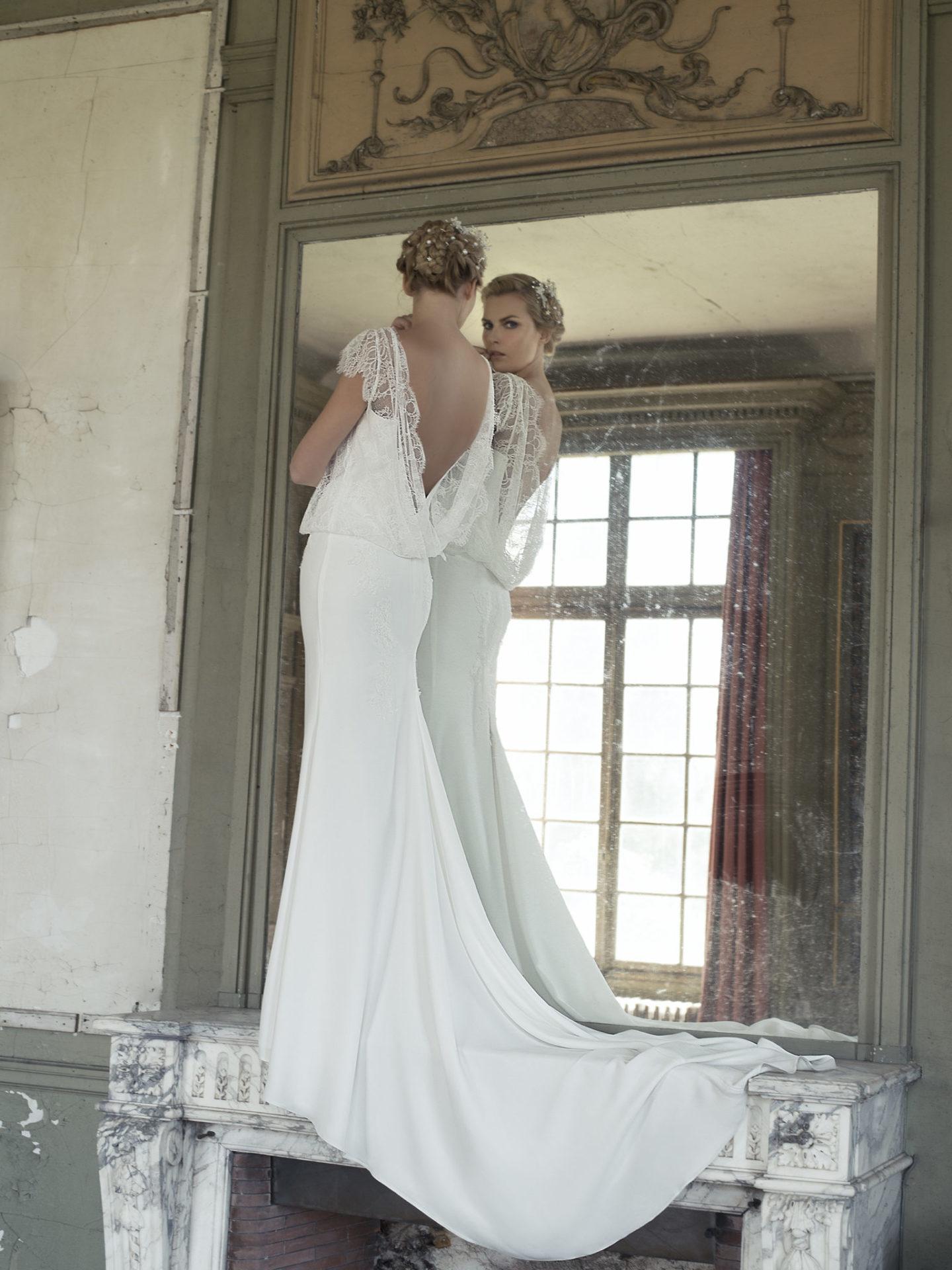 CANELLE - Robe de mariée fourreau ligne sirène - Cymbeline Collection 2018