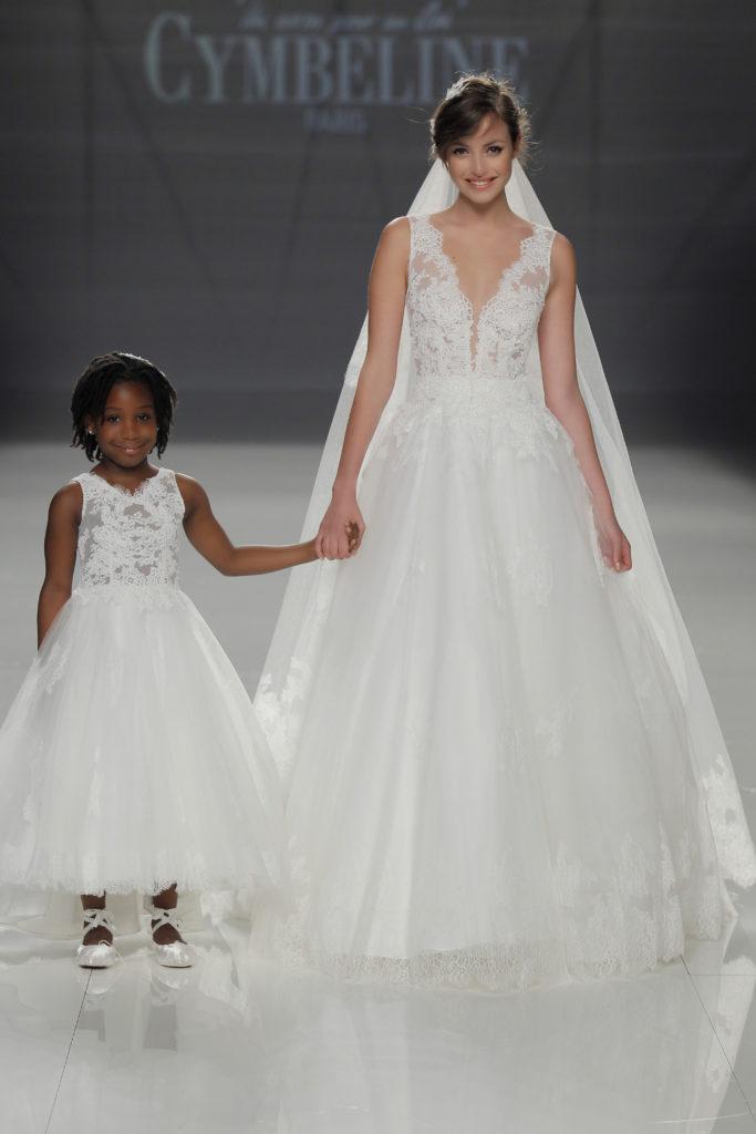 COLOMBE ET CHOCOLAT - Robe mariage enfant robe cérémonie enfant - Cymbeline Collection 2018