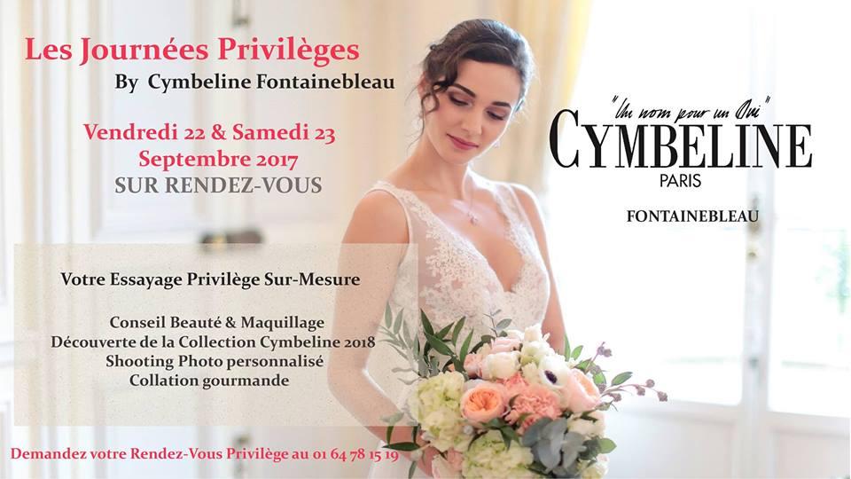 Les Journées privilèges Cymbeline Fontainebleau 22 et 23 Septembre 2017
