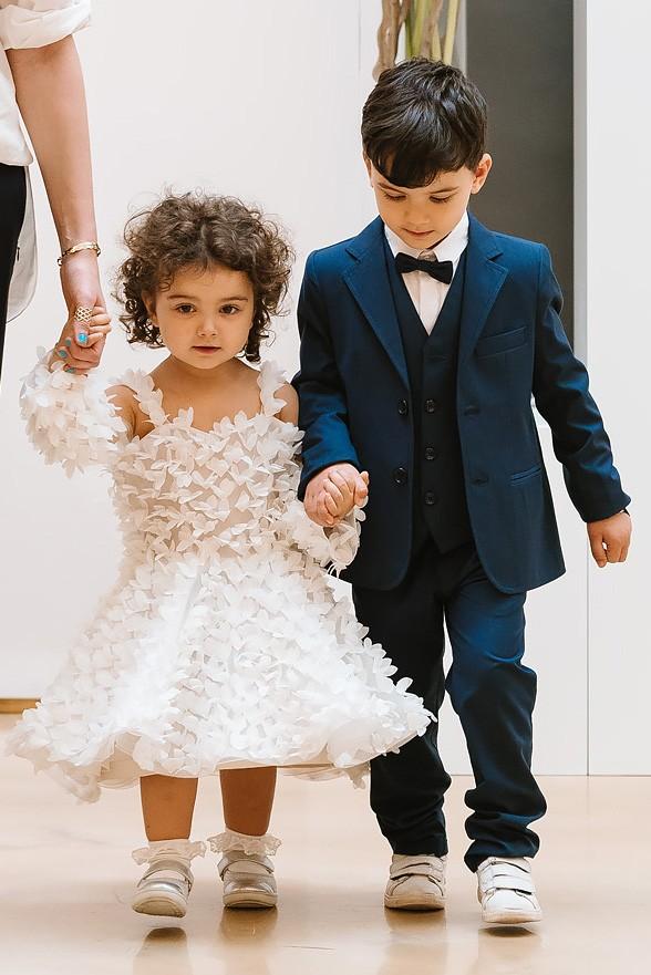 Robe de mariage enfant - robe petite fille mariage - robe cortege fille - robe de ceremonie enfant - Chipy Cymbeline