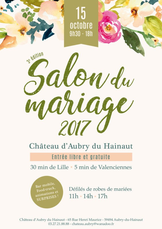 SALON DU MARIAGE AUBRY Cymbeline Valenciennes