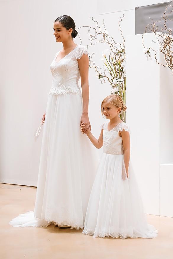 Robe mariage enfant - Robe de ceremonie fille - Robe cortège enfant Compote Cymbeline