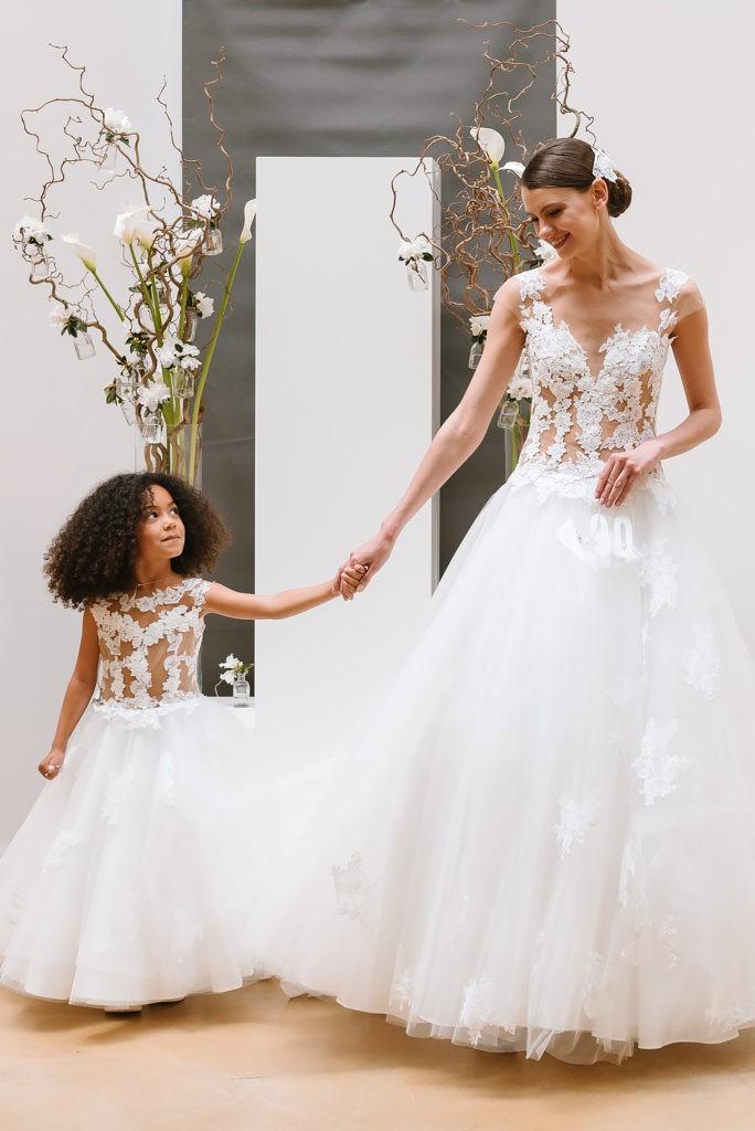 Robe mariage enfant - robe petite fille mariage - robe cortege fille - robe de ceremonie enfant - Coulis Collection enfant Cymbeline