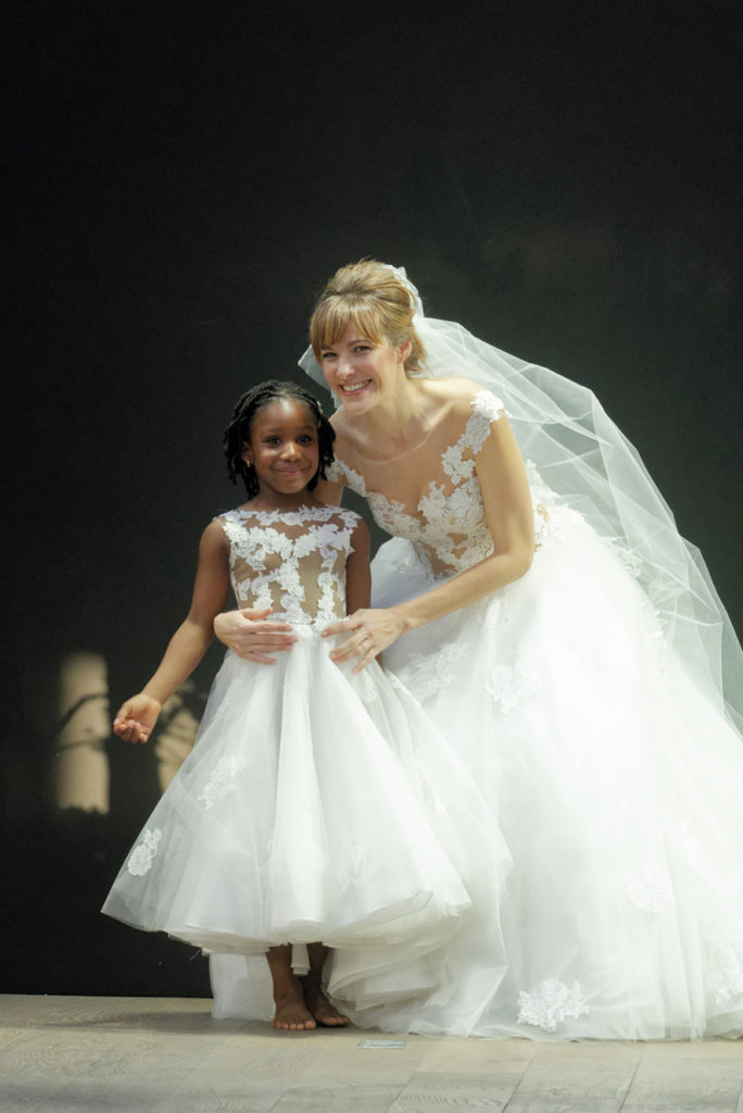 Robe mariage enfant - Robe de ceremonie fille - Robe cortège enfant - Robe fille cérémonie - Coulis Cymbeline