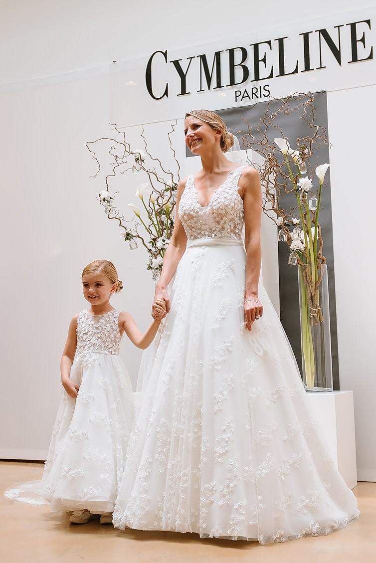 Robe de mariage enfant - robe petite fille mariage - robe cortege fille - robe de ceremonie enfant - Cymbeline