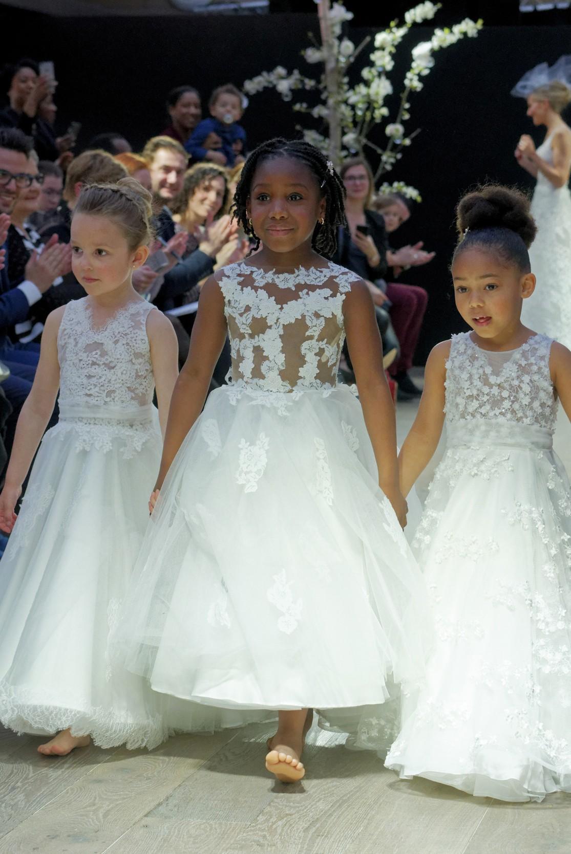 Robe mariage enfant - Robe de ceremonie fille - Robe cortege enfant Cymbeline