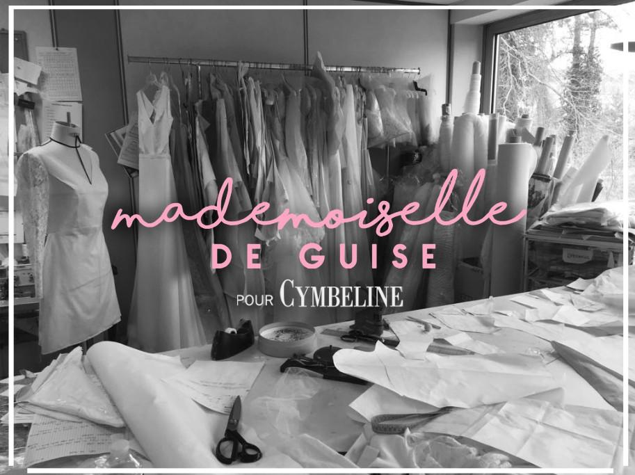Collection Mademoiselle de Guise 2019 Cymbeline - Blog mariage la robe de mariée paris