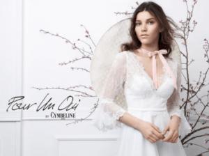 Pour un Oui by cymbeline la robe de mariée paris collection 2019