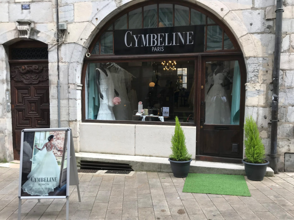 Cymbeline boutique robe de mariée à Besançon