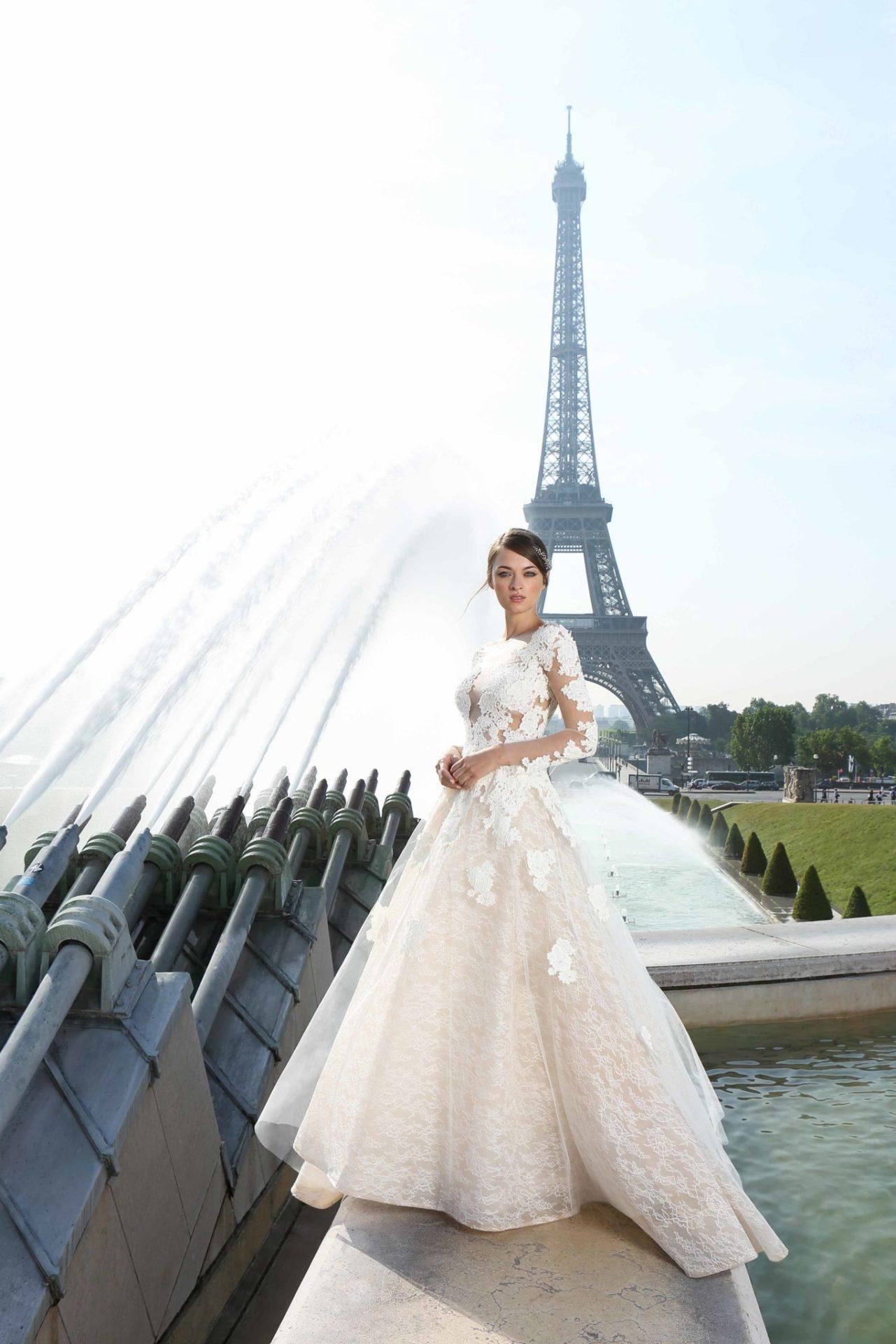 ae75417dde3 Collection La Parisienne - Cymbeline - Robes de mariée - Collection 2018
