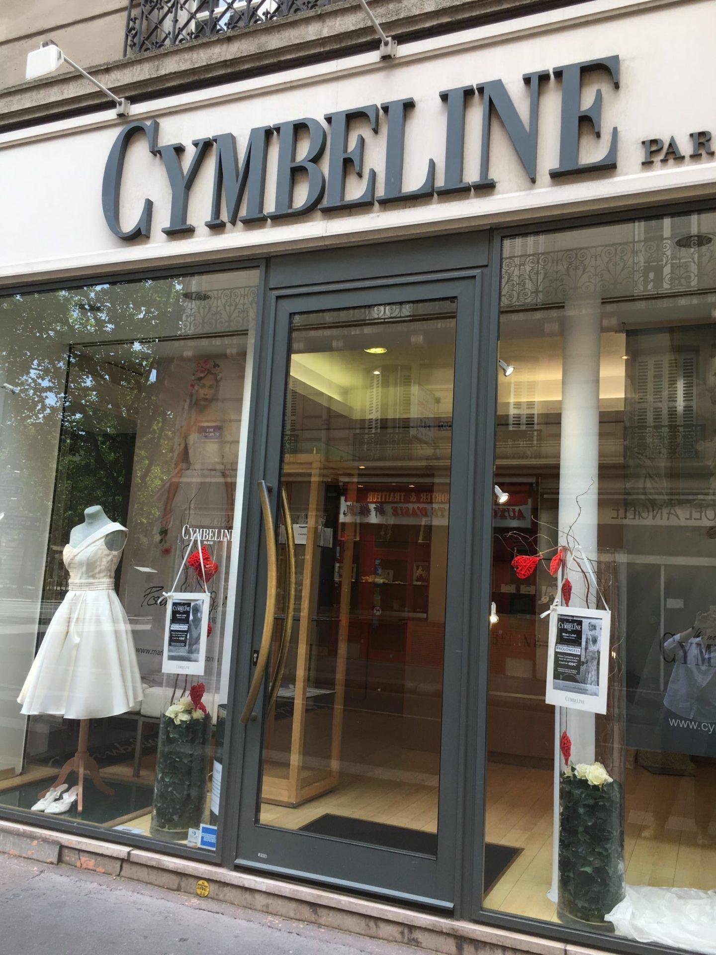 Boutique Cymbeline Paris 5ème Cymbeline Robes De Mariée